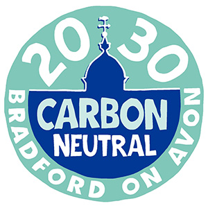 2050 Carbon Neutral Bradford on Avon Logo